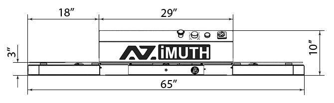 Azimuth-301 Stretch Wrap Turntable
